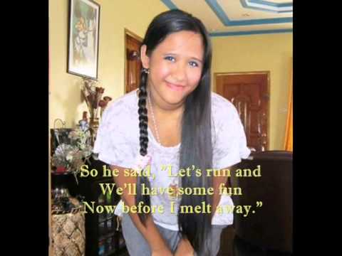 Frosty The Snowman With Lyrics By; Lyn Alejandrino Hopkins video