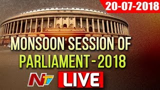 Parliament Monsoon Session 2018 LIVE | TDP MPS Moved No confidence Motion in Lok Sabha | NTV