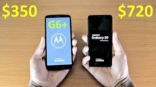 Moto G6 Plus Vs Galaxy S9 Speed Test