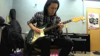John Mayer Perfectly Lonely Guitar solo cover by秋笙