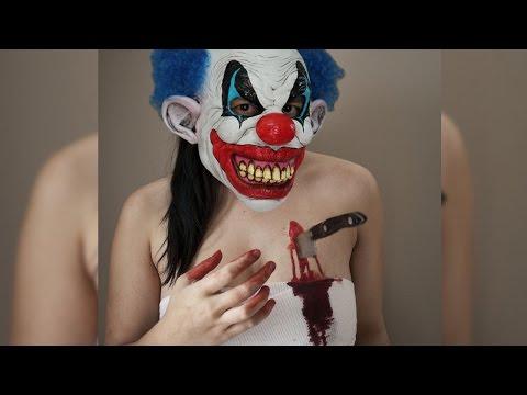 Horror-Clown-Prank : Clown wird abgestochen : Selber Schuld?
