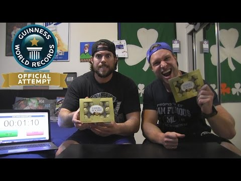 L.a. Beast Vs Furious Pete | Guinness World Record Attempt (ferrero Rocher Chocolates) video
