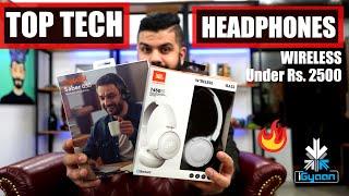 Top Tech Best Wireless Headphones Under Rs. 2500