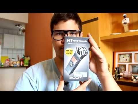 Unboxing Gravador e Microfone Shotgun + Dicas