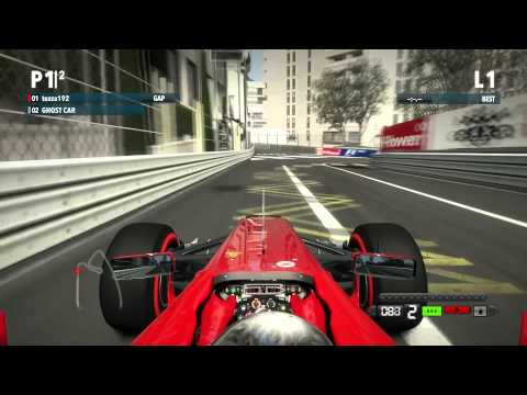 F1 2012 Monaco - Hot Lap / PC Gameplay 1080p