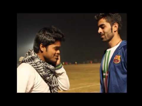 Persian (Afghani) Football Player Speaking Hindi