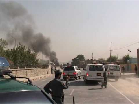 Suicide attack on Kabul military airport