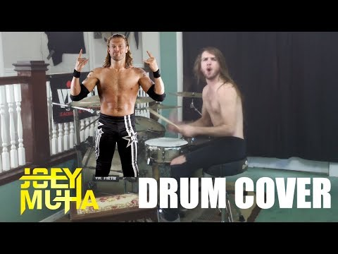 WWE The Edge Theme Song METAL DRUMS - JOEY MUHA