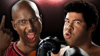 Michael Jordan vs Muhammad Ali.  Epic Rap Baes of History Season 3.