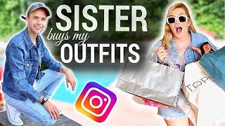 My Sister Buys My Outfits!