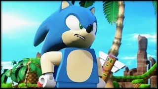 LEGO Dimensions Year 2 - Sonic Level Part 1/3 - Sonic Team!