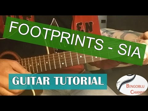 Sia - Footprints Chords