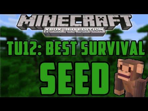 Best TU12 Survival Seed! - Minecraft (Xbox 360) TU12 Seed Showcase #5
