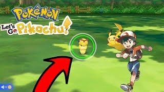 SHINY HUNTING CATERPIE IN POKEMON LET'S GO EEVEE! BEST METHOD!