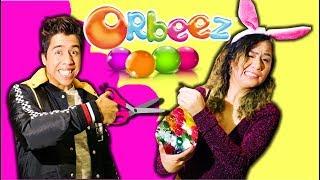 30,000 ORBEEZ en GLOBO GIGANTE – EXPLOSIÓN AL CORTARLO!!   Extra Palomitas Flow