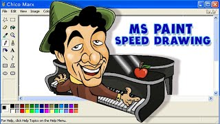 Chico Marx 125th Anniversary - Speed Drawing