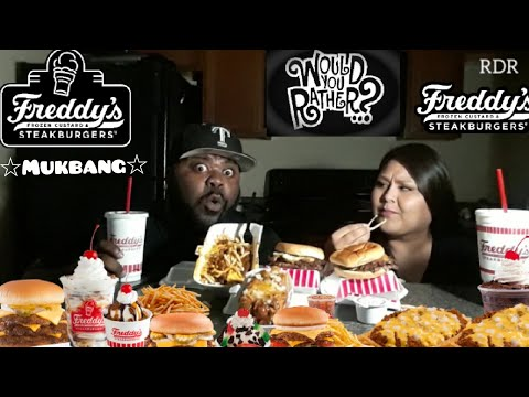 ☆Freddy's Mukbang☆(Would You Rather?Q&A)[Eating Show] thumbnail