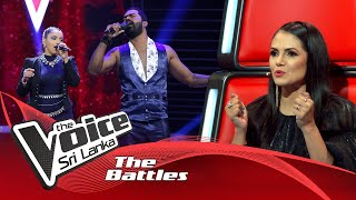The Battles : Nipun De Silva V Apoorwa Jayaweera | Tere Bina | The Voice Sri Lanka