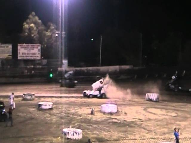 King of the West Sprint Car Crash @ Antioch Speedway 6/23/12