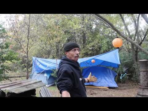 Homeless camp Tyler,Texas