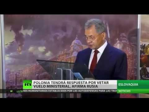 Rusia sobre el incidente con su ministro: Las acciones de Varsovia serán correspondidas