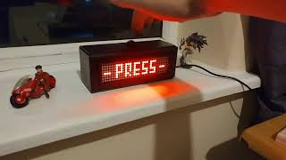 Space Invaders Clock (on a budget!)
