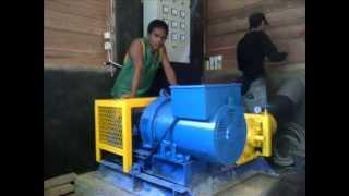 Pembangunan PLTMH Kapasitas 20 kW di Desa Kubung yang di prakarsai oleh PNPM MP