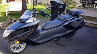 WOW!! WHAT IS THAT???!!!     JUST GOT MY SCOOTER!!! Yamaha Morphous Scooter- 2006