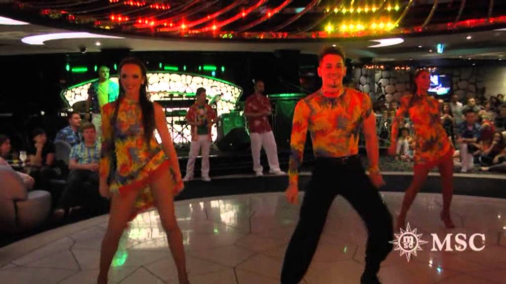 Tropical Party On The Msc Divina Youtube