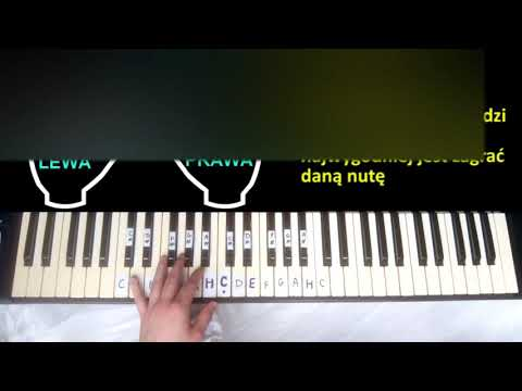 Nauka Gry Na Keyboardzie - Lekcja 1