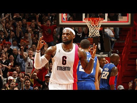 LeBron James Top 15 Underrated/Difficult Plays 2011/2012 HD