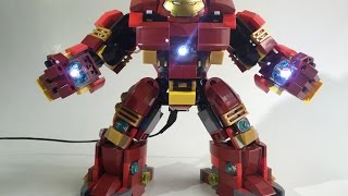 LEGO Hulkbuster custom moc led