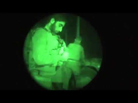 Búsqueda nocturna de los tres israelíes Secuestrados 14/06/2014