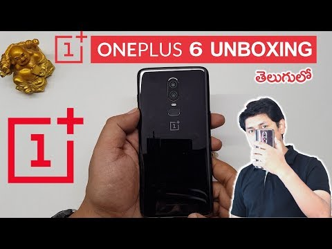 OnePlus 6 Unboxing in Telugu Tech-Logic
