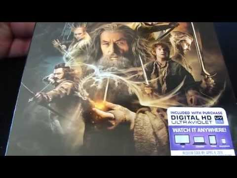 The Hobbit: The Desolation of Smaug Blu-ray Unboxing