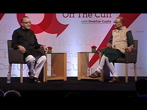 In conversation with Finance Minister Arun Jaitley