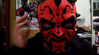 Hasbro Star Wars Darth Maul Electronic Helmet demo 2/2