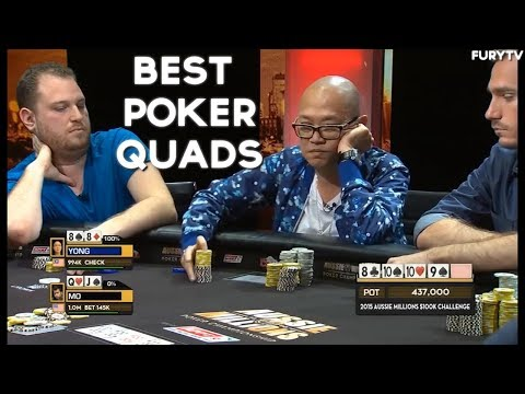 TOP 3 POKER QUADS HANDS OF ALL TIME!