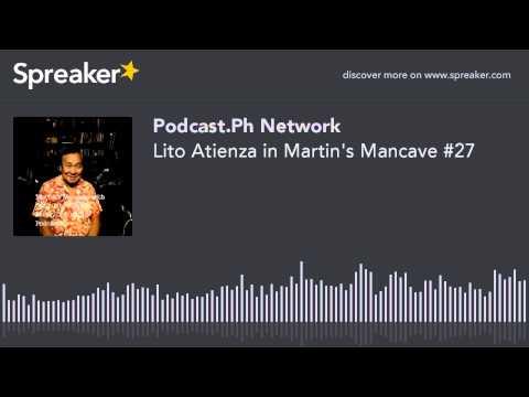 Lito Atienza in Martin's Mancave #27