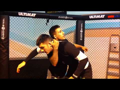 Wrestling Techniques For MMA: Duck Under Pickup with Jacob Rezaie Image 1