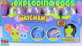 HatchEms Mashems Surprise Egg Dino Squishies Toy Review | PSToyReviews