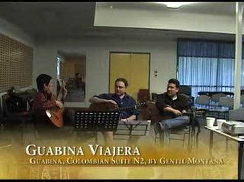 Guabina Viajera Master Class by Gentil Montaña in Australia