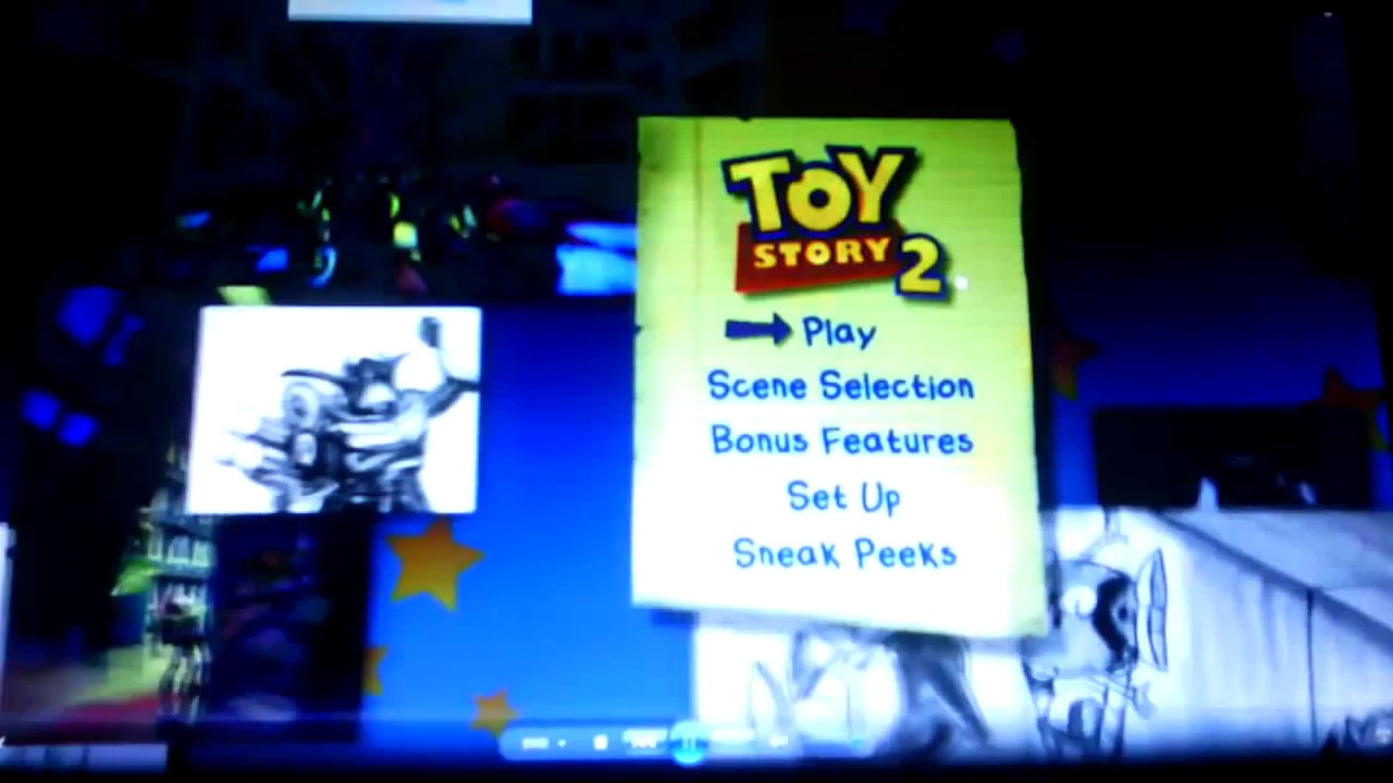 Cars 2 Dvd Menu Walkthrough >> Toy Story 2 Special Edition Menu Walkthrough - YouTube