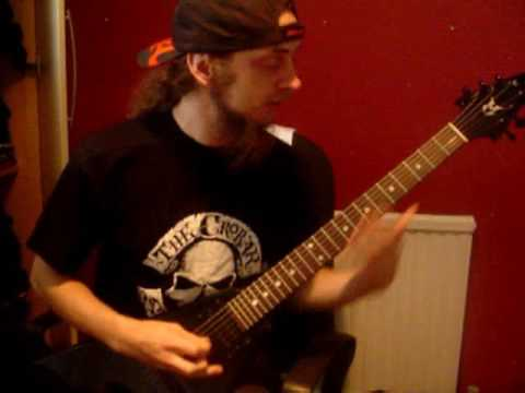 How to Play Thrasher Guitar Solos by EVILE - w/ Ol Drake