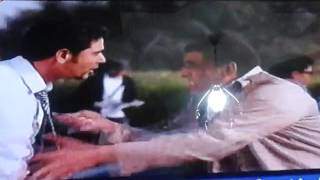 مشهد مضحك من فيلم حلم عزيز