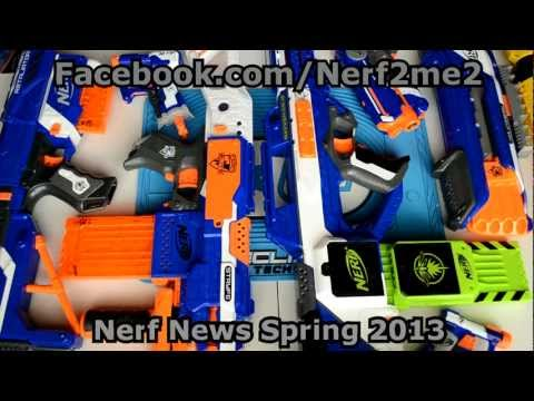 ~New Releases~ Nerf News & Spring 2013 New Blaster Releases! ~New Releases~