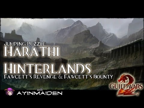  Guild Wars 2  - Jumping Puzzle - Harathi Hinterlands (Fawcett's Revenge & Bounty)