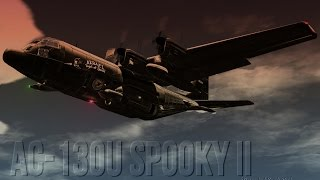 Preview of the upcoming Gunship AC-130U Spooky II