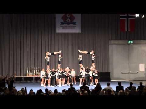 NM 2013 Cheerleading NRC Tigers Sr Coed Elite