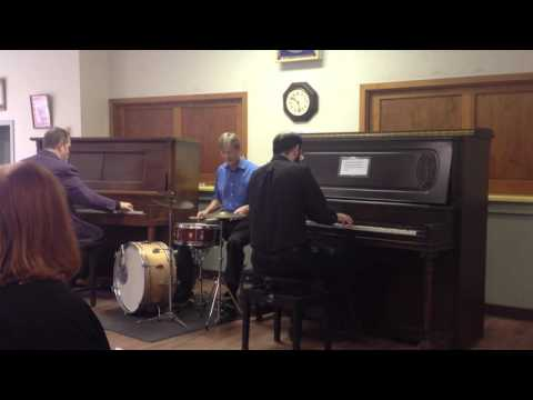 Maple Leaf Rag, played by Tom Brier, Brian Holland, and Danny Coots